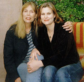 Joni mitchell reunited with her daughter she gave up for adoption when